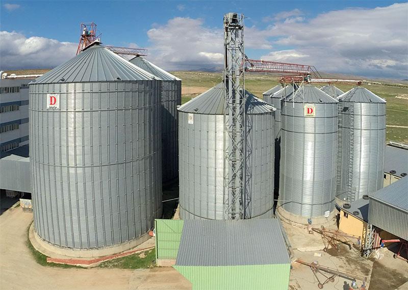نظم تخزين الحبوب