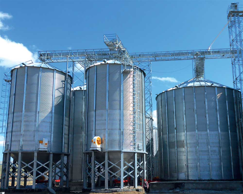 HOPPER BOTTOM GRAIN STORAGE SILOS | Dehşetiler Makina