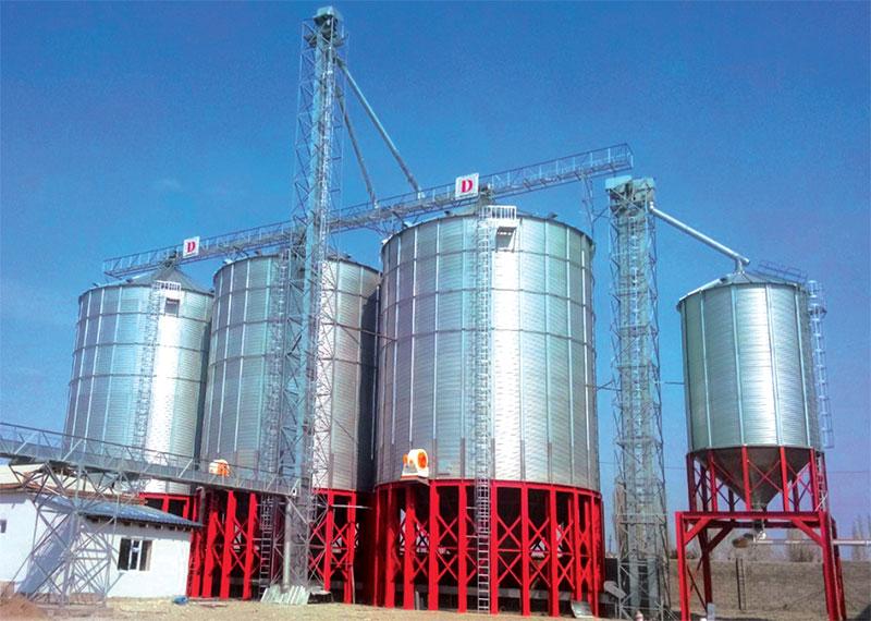 واثب القاع الحبوب التخزين للصوامع